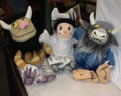 Where the Wild Things Are, Monster and Max toys