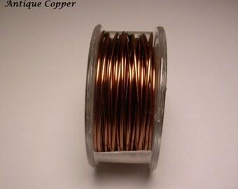 Antique Copper Craft Wire 24ga. 60ft. PRO - QUALITY