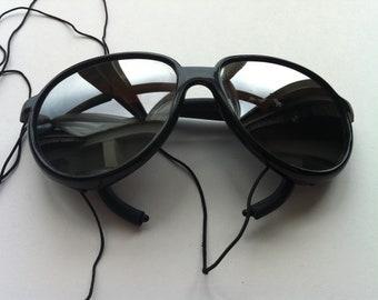 Motorcycle Glasses, Men's Sunglasses, Women's Sunglasses, Black Glasses, Vintage Wrap Around Riding Sunglasses