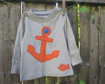Drop The Anchor Matey Kids T shirt Pirates and Sea