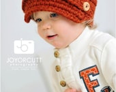 Newsboy Hat with Buttons (Ultra Warm)