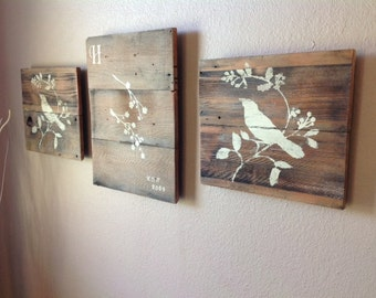 Wood Pallet Wall Decor reclaimed wooden pallet wall art | recycled things - part 650