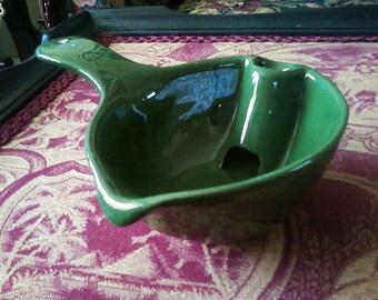 Green Gravy Boat