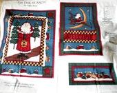 Tis The Season Christmas Panel Fabric