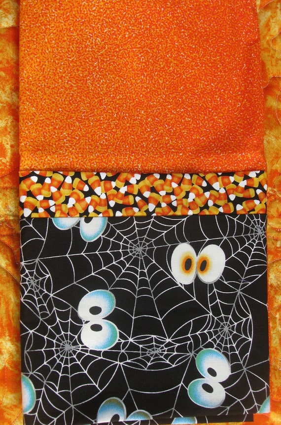 Handmade Pillow Case - Halloween Treat Sack