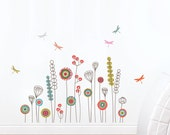 Garden - kid wall decal