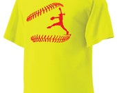 I Play Softball Shirt, Pitcher Tshirt, Catcher Tshirt, Batter Tshirt in color