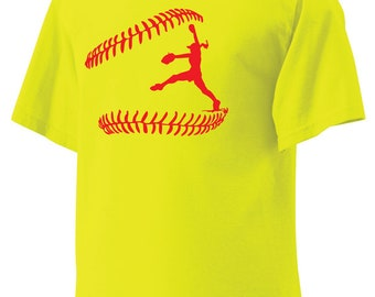 I Play Softball Shirt, Pitcher Tshirt, Catcher Tshirt, Batter Tshirt in color