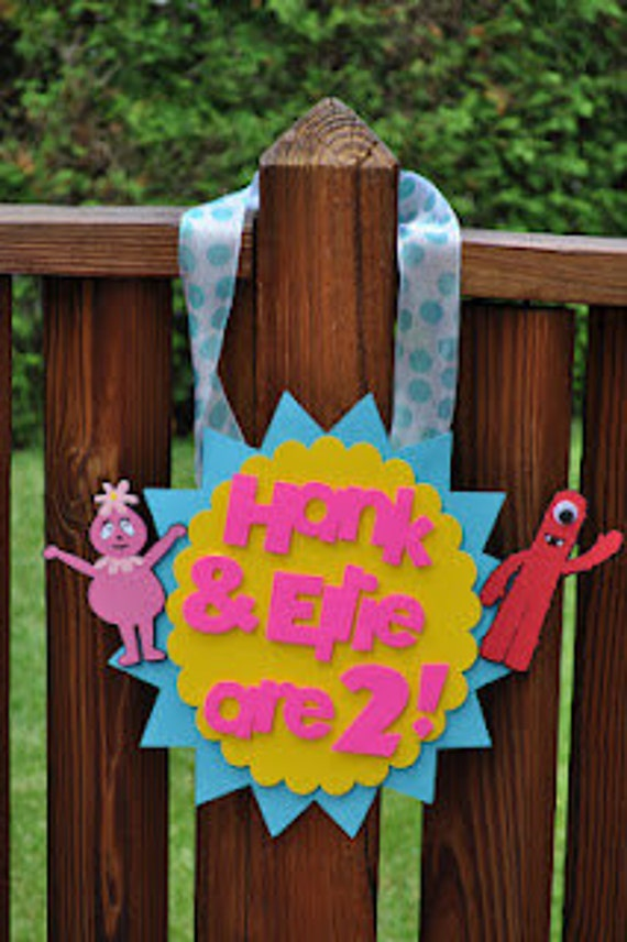 Yo Gabba Gabba inspired party package