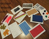 Busy Bag Activity: Texture Sensory Touch Cards - Set of 12