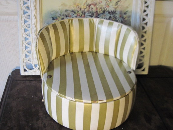 Child's Vintage Round Booster Seat Remember These Hard to Find