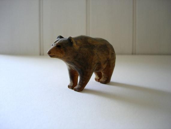 Brown Bear Ornament - Wooden Souvenir