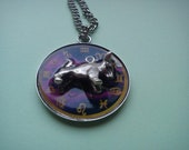 Astrological Sign 3D Taurus , Necklace,Pendant,Zodiac Charm, Astrology,horoscope,Birthday gift