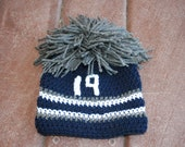 Dallas Cowboy Beanie- Newborn-Baby-Toddler- Hat- Austin