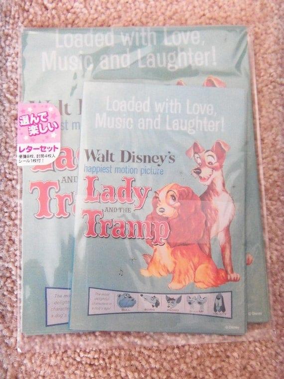 Lady & The Tramp Letter Set - Disney