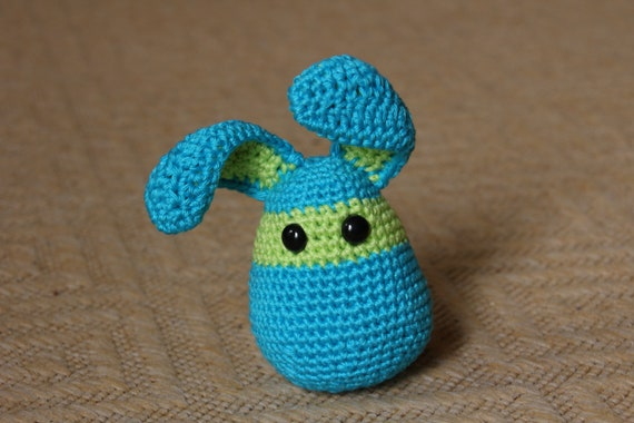 Ready to ship - Summer crocheted rabbit