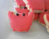 Itty Bitty Crab Cookie - Sugar Cookies - 4 Dozen