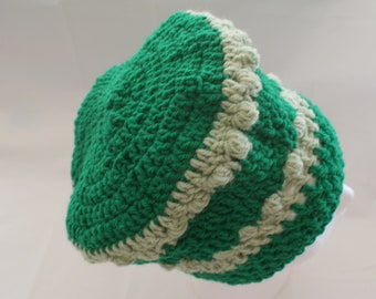 Womens Hat, Slouch Hat, Slouchy Cap, Winter Fashion Hat, Green Womens Hat, Snow Cloche, Womens Fashion Hat, Snow Hat