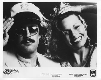 Captain & Tennille Publicity Photo     8 by 10 Inches