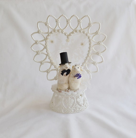 taxidermy mouse wedding cake topper taxidermy mouse wedding cake topper 20767