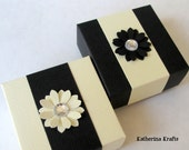 Wedding Favor Boxes, Origami Favor Boxes, Gift Box - Set of 2