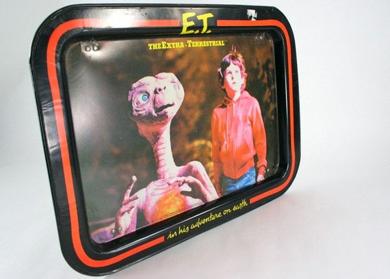 1982 E.T. The Extra-Terrestrial TV Tray