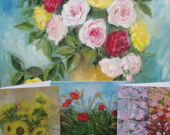 Greeting Cards Flowers