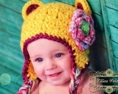 Goldilocks Multi-Colored Whimsical Hat for Girl