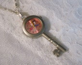 Hello Kitty Key Watch Necklace - Jewelry by ThatsSoCoolStudio