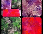 3 Custom 4x4 Paintings for Andrea