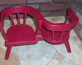 American Girl Doll Furniture Friendship Chair