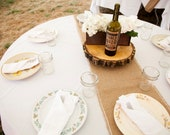 10 Burlap Table Runners: 1' x 10'