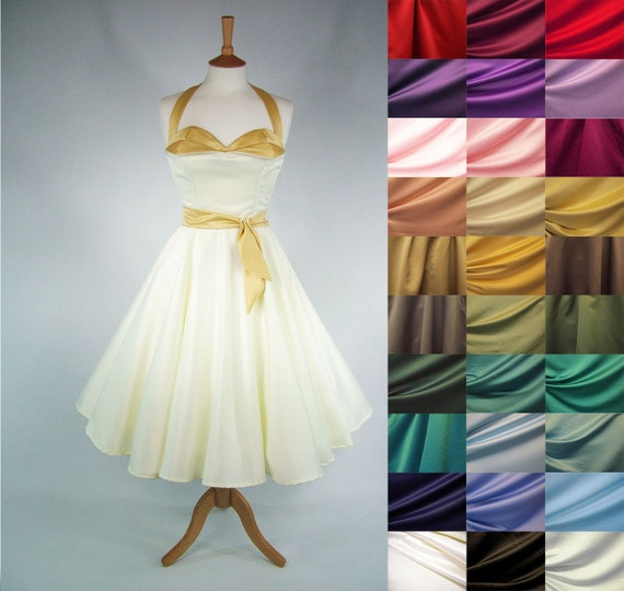 ANY COLOUR Made To Measure Full Circle Skirt By