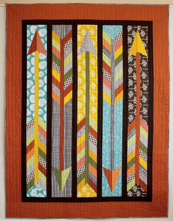 Straight as an Arrow PDF Quilt Pattern