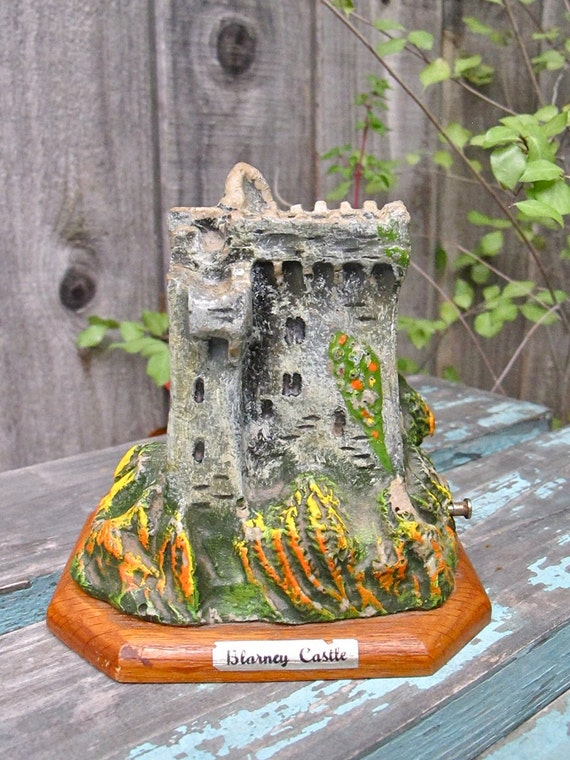 Vintage Music Box Ireland Blarney Castle Souvenir