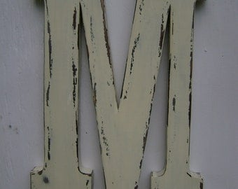 Wood Letters,Initials,Nursery decor,home decor,wall hanging,Rustic,Distressed