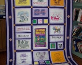 T-shirt Quilts Custom Made To Your Theme - Deposit