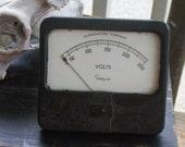 Simpson Voltage Meter for art assemblage, steampunk art