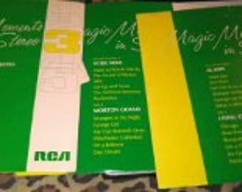Magic Moments In Stero Vinyel Record Set  Circa 1968..Complete Set...Highly Collectible