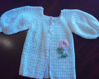 baby sweater/topper