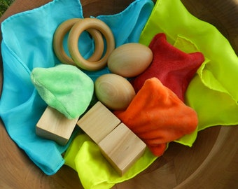 Gift Set - Natural Toy Mix-up for Baby