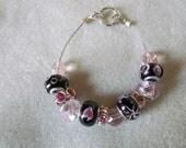 Assorted glass bead bracelet