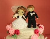 PATTERN Instant Download Dreamy Bride And Groom Crochet Amigurumi