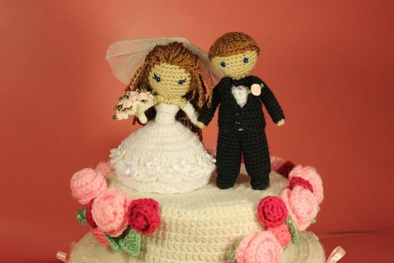 PATTERN Instant Download Dreamy Bride And Groom Crochet Amigurumi