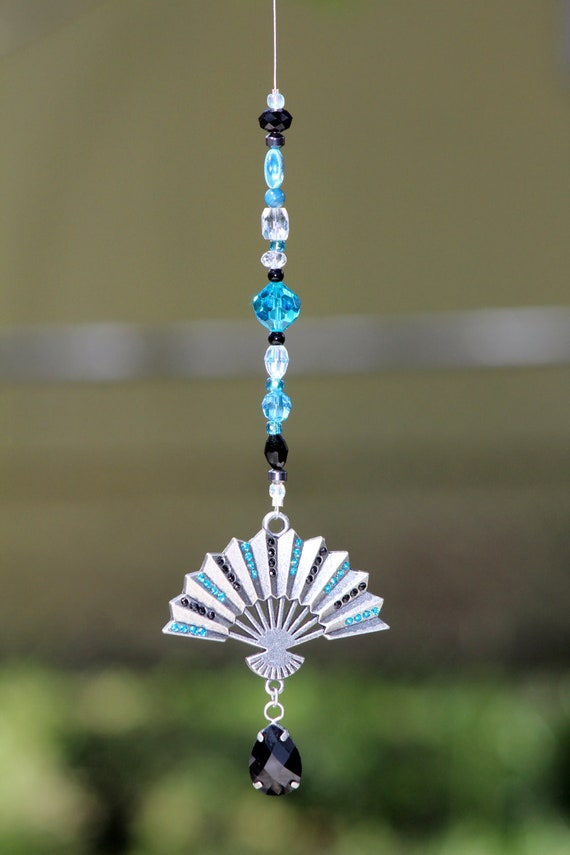 Rear View Mirror Hanger Car Charm The Orient By Skychasejewels