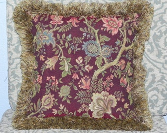 Amethyst Tapestry Pillow Cover