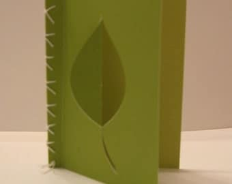 Leaf Card. Can be sold individually or with the set of three.