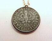 1923 Polish Coin Necklace