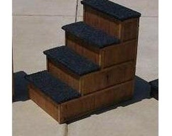 4 Step Pet Stairs Bed Step 30 inches tall