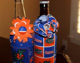 Florida Gators Embellished bottle koozies
